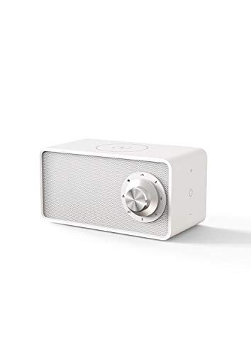 StoDoc White Noise Bluetooth 5.0 Speaker Sound Machine & Wireless Fast Charger for Sleeping Baby Adult, Sleep Therapy for Home, Office & Travel, 7 Relaxing & Smoothing Nature Sounds, Auto-Off Timer