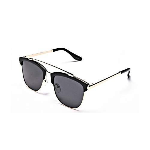 Tom Archer mujer de alta calidad elegante retro diseñador cuadrado browline polarizado protección UV gafas de sol con estuche paño de limpieza lente cuidado kit