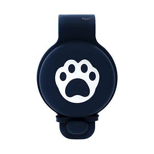 Funda protectora de silicona para Apple Airtag - Compatible con collares para perros y gatos - Rastreador GPS