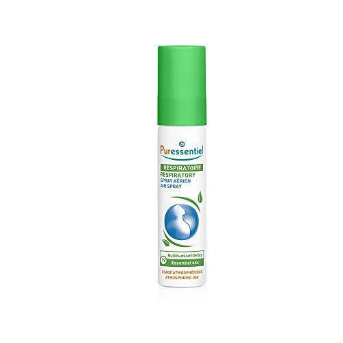 Puressentiel - Resp OK - Spray Aérien aux 19 Huiles Essentielles - Aide à respirer plus librement - Formule 100% d'origine naturelle - Usage Atmosphérique - 20 ml