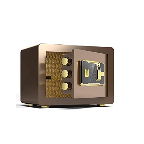 KJLY Cajas de seguridad, cajas fuertes para el hogar, cajas de seguridad, contraseña, cajas de seguridad, cajas de seguridad para efectivo y cheques, cajas de seguridad (color: B)