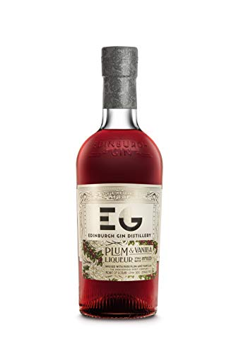 Edinburgh Gin Liqueur Plum & Vanilla - Pflaume Vanille Gin Likör, (1 x 0.5 l)