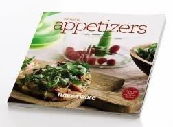 Tupperware Amazing Appetizers Recipe Book