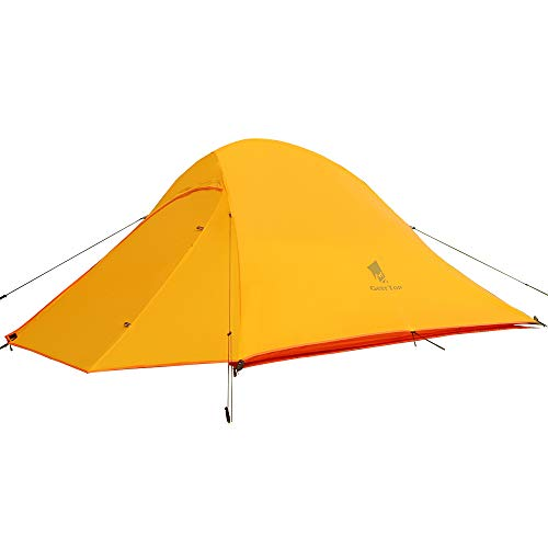 GEERTOP Tienda iglú de Campaña Impermeable 20D Ultra Ligera - UV Resistente - 2 Personas 3 a 4 Estaciones - 125 x 210 x 100 cm (1,81kg) - para Acampar Excursionismo y Turismo