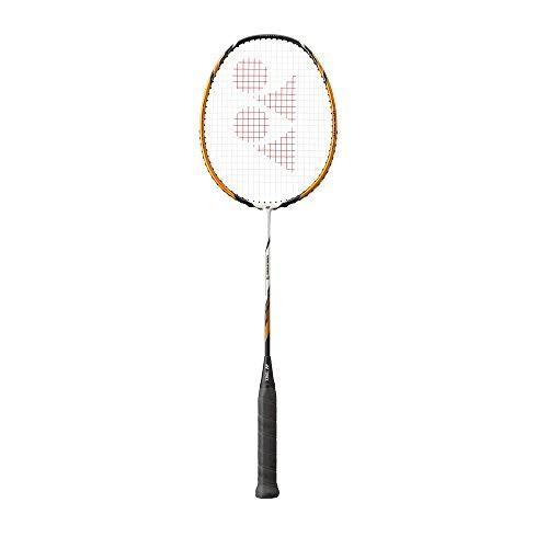 YONEX VOLTRIC 1 Badminton Schläger 2015 YCSports - Weiß/Gold, 4U (Ave.83g)
