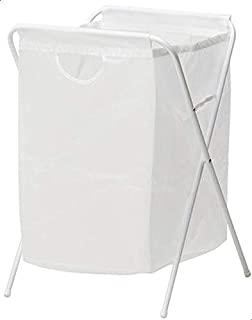 Laundry Bag With Stand - White [k2190]