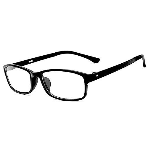 [FREESE] 超軽量13g 伊達メガネ メンズ 形状記憶 デザイナーズ ファッション伊達眼鏡 黒縁 おしゃれ スクエア メンズ 【福岡発のアイウェアブランドFREESE】(ベーシックブラック)