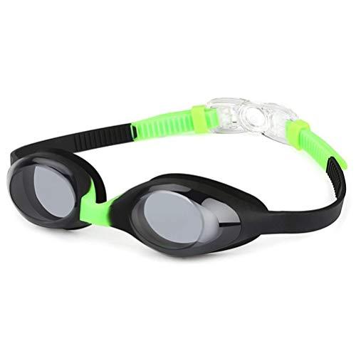 Dan&Dre Gafas de natación para niños y niñas, de liberación rápida, correas ajustables de silicona para los ojos, protección UV, antivaho, gafas de natación