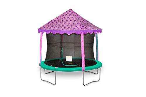 Tienda de campaña con toldo de mariposa de 3 m, cama elástica no incluida.