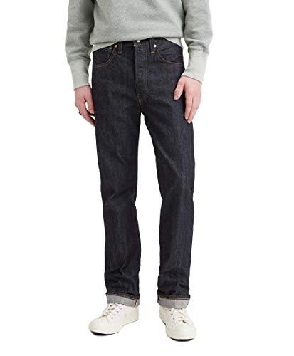 Levi´s Vintage Clothing - Jeans 501 del 1947 Original Fit, 47501-0201, un solo lavaggio Blu 33W x 34L