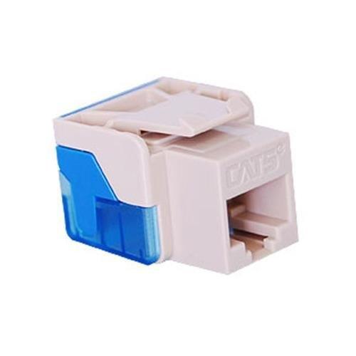 2 Way Inline Splitter Audiovox TP270WHR RCA Telephone Duplex Wall Jack Phone Adapter White