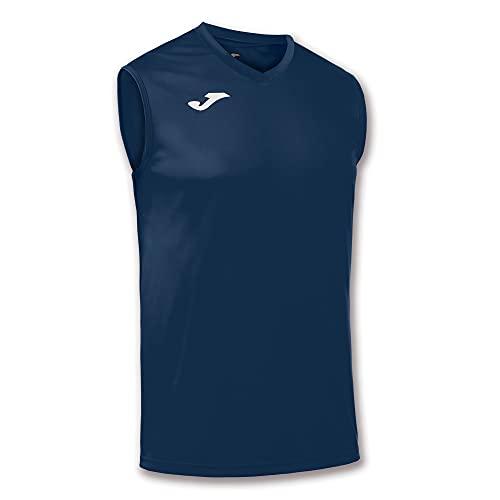 Joma Camiseta Combi S/M, Hombres, Azul (Marino 300)