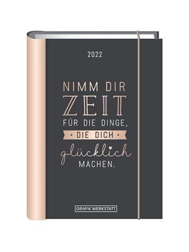 Terminplaner 2022 'Nimm dir Zeit': Terminplaner Hardcover