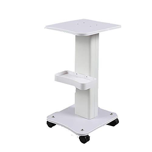 Carrelli ospedaliero, Forniture mediche portacomputer Medico 2 utilità for Salone di Bellezza con cassetto, laminazione for Parrucchiere Bianco con corrimano