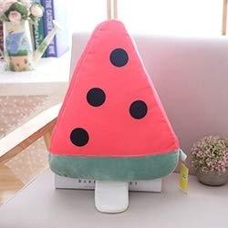 Sunshine20 Almohadas Calientes, Almohadas Creativas, Almohadas de Frutas Creativas, Regalos Divertidos para niños en Verano (Color : Watermelon)