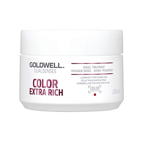 Goldwell Dualsenses Color Extra Rich 60 seconds Treatment- Pflegekur, 1er Pack (1 x 200 ml)