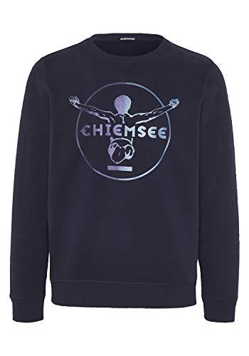 Chiemsee - Felpa da Uomo, Uomo, Maglia di Tuta, 22191503, Cielo Notturno, XS