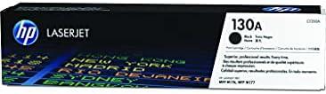 HP 130A Laserjet Toner Cartridge, Black - CF350A