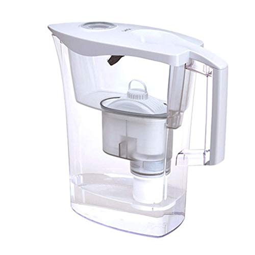 Adesign Filtro Jarra de Primera Calidad, tecnología for Filtración Superior Filtro de la Caldera casa Cocina Beber Directamente (Color : White)