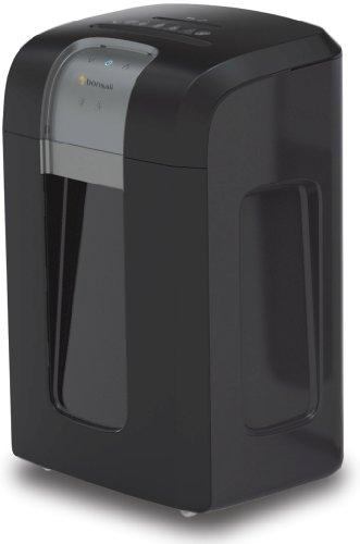 Bonsaii 3S30 Aktenvernichter, bis zu 18 Blatt Papier, Partikelschnitt (Sicherheitsstufe P-4), mit CD - Shredder, 4 Stunden Dauerbetrieb (entspricht ca. 14.500 DIN A4 Seiten) schwarz/silber
