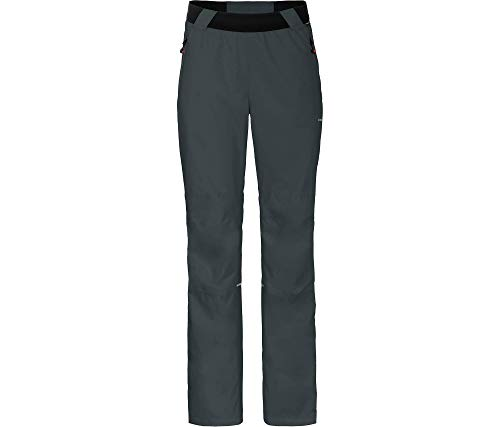 Bergson KERAVA Comfort | Damen (Über-) Regenhose, Netzfutter, 12000 mm Wassersäule, Ebony [949], 50 - Damen