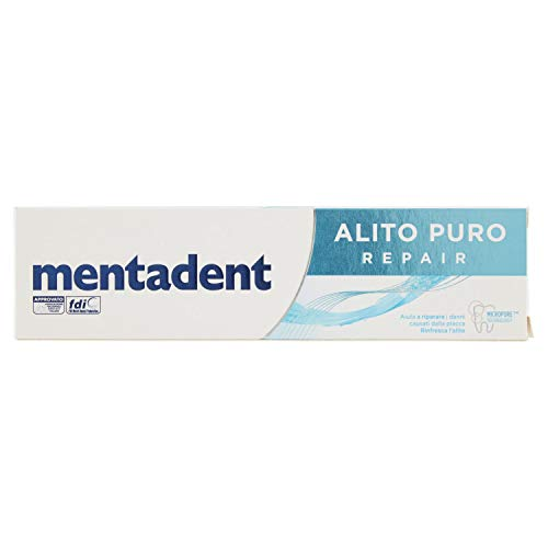 Mentadent – Maximum Protection, Zahnpasta Aliento Puro Pro 75 ml