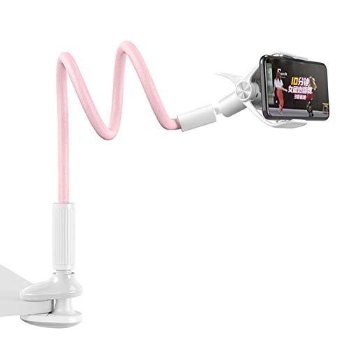 Elibeauty Schwanenhals-Handyhalterung, flexible Halterung für Bett, 360 Grad verstellbare Halterung, lange Arme,...