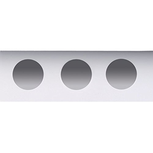 Neolab 1 6295 diapositives avec 3 Wells, 76 mm x 26 mm (lot de 5)
