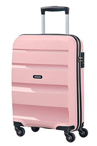 American Tourister Bon Air - Spinner Small Strict Equipaje de Mano, 55 cm, 31.5 Liters, Rosa (Cherry Blossoms)