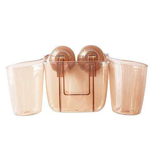 Uso Domestico Articoli da Bagno innovativi Set di Lavaggio Porta spazzolino Accessori da Bagno per la casa Kit di Lavaggio (Colore Ambra) Jasnyfall