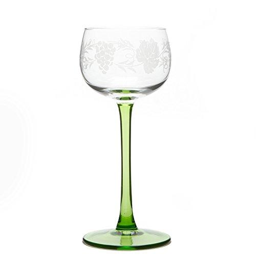 6 Elsässer Weingläser