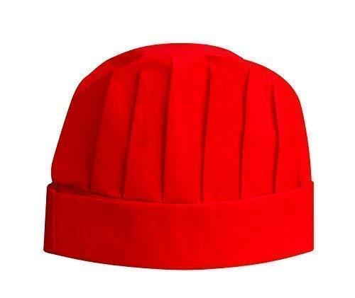 Subitodisponibile Sombrero Gorra de Cocinero Cocinero en Tnt No Tejido Talla Unic