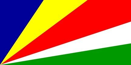 Seychellen Flagge 150cm x 90cm