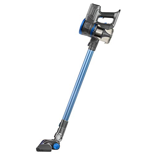 Taurus Ideal Lithium Aspirador de Mano y Lanza Extra Larga, 22.2 V, Cepillo motorizado Brush, Turbo Cyclonic System, 650 ml, Filtro HEPA, Azul, Plastique