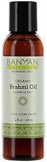 Sponsored Ad - Banyan Botanicals Brahmi Oil with Sesame Base - USDA Certified Organic - Ayurvedic Skin & Hair Oil with Got...