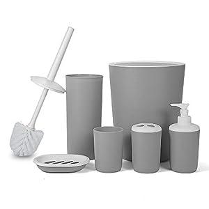 Set de Accesorios para ba/ño Premier Housewares 4 Piezas