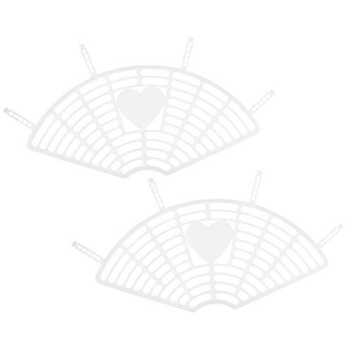 Toygogo Kleidernetz Rockschutz Kunststoff Mantelschoner Kleiderschutz Kleiderschutznetz für 22 bis 26 Zoll Fahrrad - Weiß