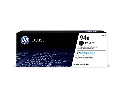 HP 94X (CF294X) Cartuccia Toner Originale, Compatibile con Stampanti Laser HP LaserJet Pro M118DW, M148DW e M148FDW, Nero