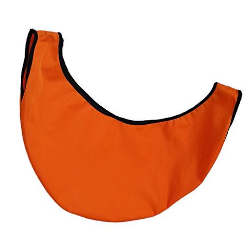 perfeclan Bowlingkugel Reinigungssack Poliersack für Bowling Ball - Orange
