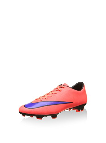 Nike Mercurial Victory V FG Herren Fußballschuhe, Rot (Bright Crimson/Persian Violet-Black 650), 42.5 EU