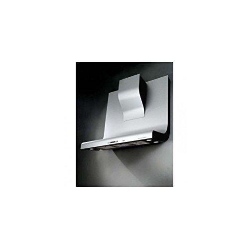 Broan HD 300 ALU Hotte Décor Murale 90 cm, Charbon et Filtre à Graisse métallique, 3 Vitesses réglables, INOX