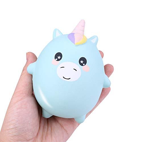 Juguete Estrés Alivio,JiaMeng Squishies Adorable Animals Slow Lising Cream Squeeze Perfumados Juguetes para aliviar el estrés para niños niños Adultos