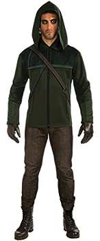 Rubie s Arrow Hooded Jacket Black Standard