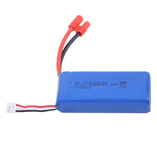 Dailyinshop 7.4V 2000mAh 25C Lipo Battery Replacement for Syma X8C RC Quadcopter