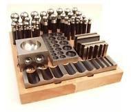 Jewellers Tools 41pc Jumbo Doming Block Swage Punch SetMade of Steel dapping die