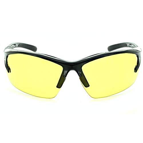 Optic Nerve, Mountain Shades, Unisex Sports Sunglasses - Motoreyez Frame, Laser Yellow Lens