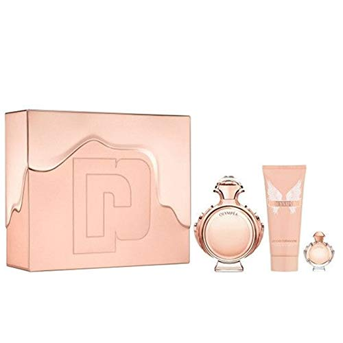 Paco Rabanne Olympea Eau De Parfum Spray 50ml Set 3 Pieces 2019