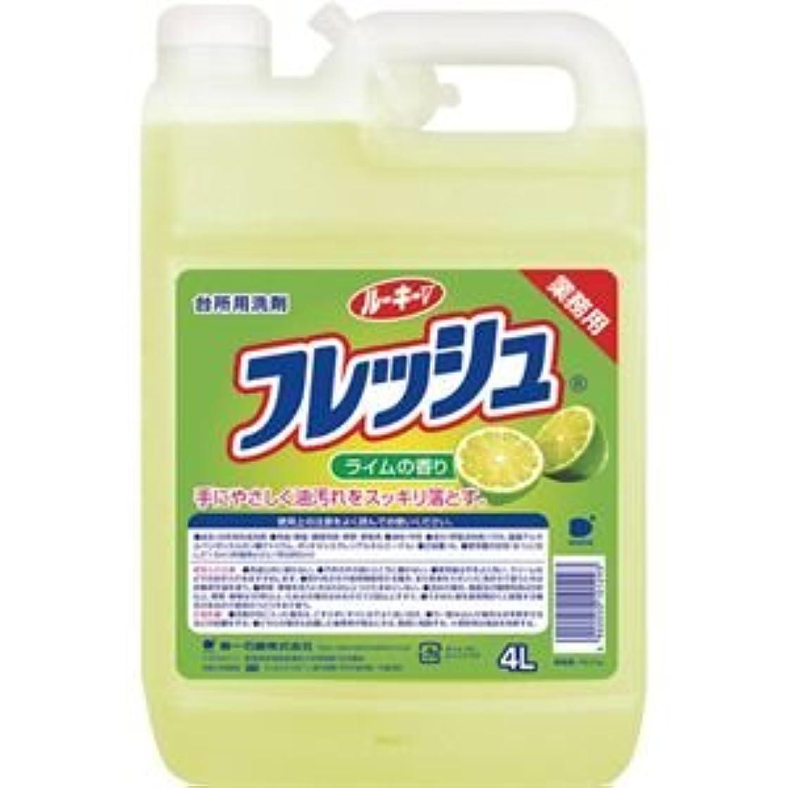 唇ロデオ明るい(まとめ) 第一石鹸 ルーキーVフレッシュ 業務用 4L 1本 【×5セット】