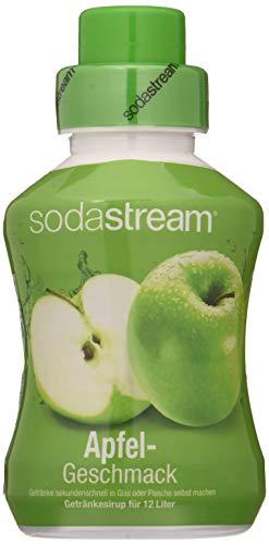 sodastream Sirup Apfel, Ergiebigkeit: 1x Flasche ergibt 12 Liter Fertiggetränk, Sekundenschnell zubereitet und immer frisch, 500 ml, 1020108491