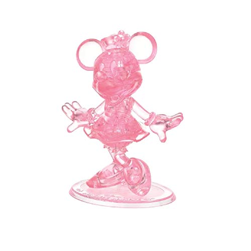 3-D Licensed Crystal Puzzle-Minnie Mouse